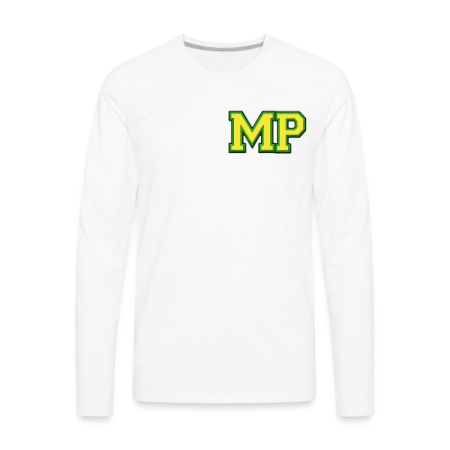 Mp Matthew playz logo long sleeve - Men's Premium Long Sleeve T-Shirt