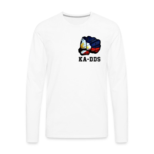 Duterte Fist of the DDS - Men's Premium Long Sleeve T-Shirt