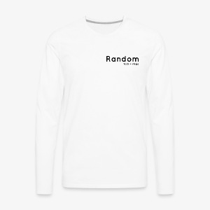 random negro - Men's Premium Long Sleeve T-Shirt