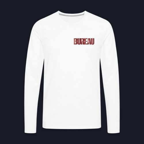 BUREAU Red Shade - Men's Premium Long Sleeve T-Shirt