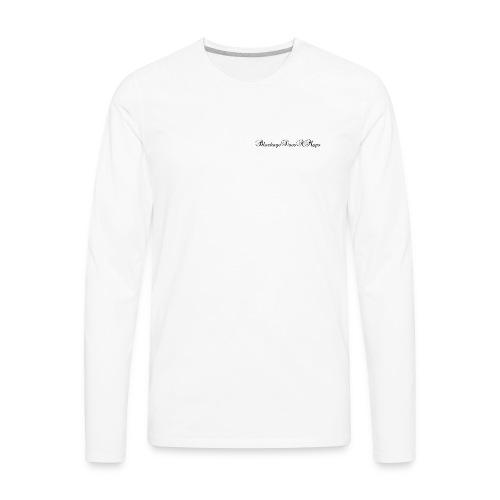 Fancy BlockageDoesAMaps - Men's Premium Long Sleeve T-Shirt