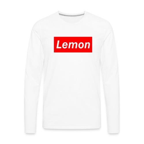 Lemon - Men's Premium Long Sleeve T-Shirt