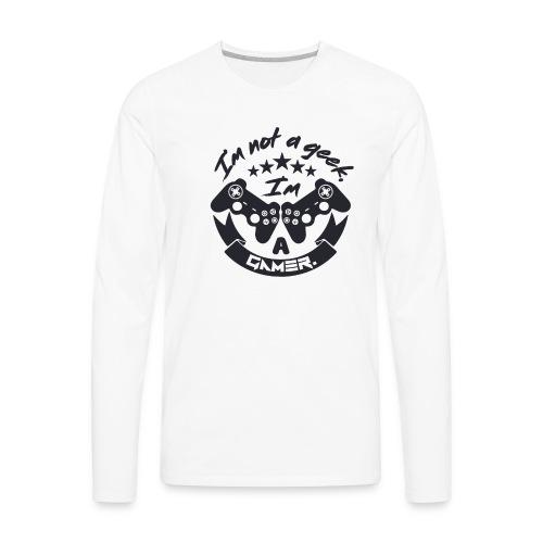 Design Gamer 2 - Men's Premium Long Sleeve T-Shirt