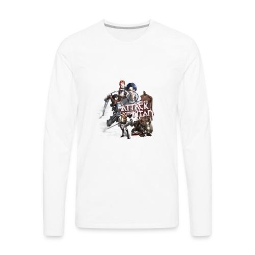 Attack on Titan 2017 new design - Men's Premium Long Sleeve T-Shirt