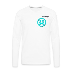long sleeve all white athletic shirt - Men's Premium Long Sleeve T-Shirt