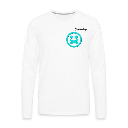 long sleeve all white athletic shirt - Men's Premium Long Sleeve T-Shirt