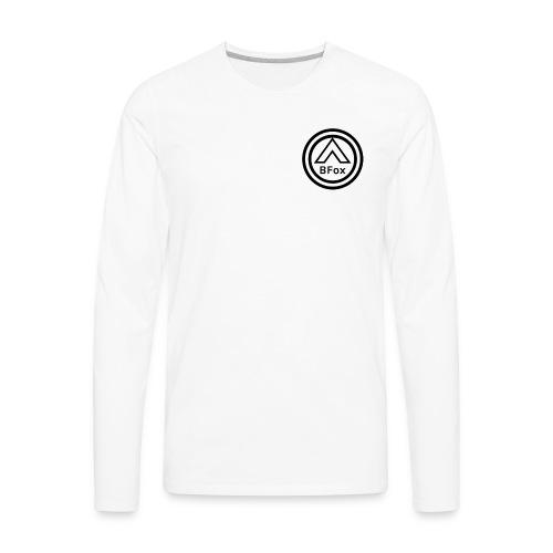 Black Logo BFox - Men's Premium Long Sleeve T-Shirt