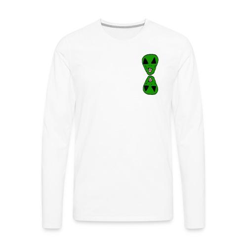 Double Alien - Men's Premium Long Sleeve T-Shirt