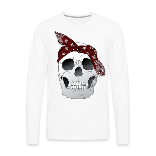 RIP Tu.pac [In Red] - Men's Premium Long Sleeve T-Shirt