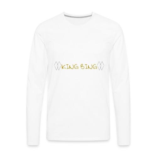 King Bing - Men's Premium Long Sleeve T-Shirt