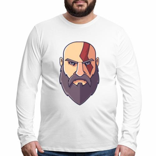 Kratos - Men's Premium Long Sleeve T-Shirt