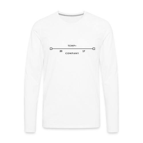 Temp+ 2nd design - Men's Premium Long Sleeve T-Shirt