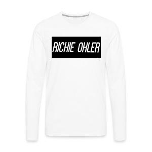 Richie Ohler Shirt Logo - Men's Premium Long Sleeve T-Shirt