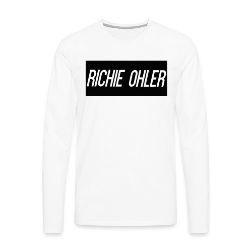 Richie Ohler Shirt Logo - Men's Premium Long Sleeve T-Shirt