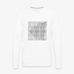 Nicaragua 2018 Black - Men's Premium Long Sleeve T-Shirt