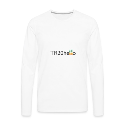 TR20hello - Men's Premium Long Sleeve T-Shirt