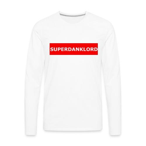 REDbannerMrch - Men's Premium Long Sleeve T-Shirt