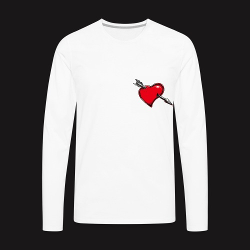 pierced - Men's Premium Long Sleeve T-Shirt