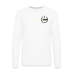 MPOWER RECORDS BRAND - Men's Premium Long Sleeve T-Shirt