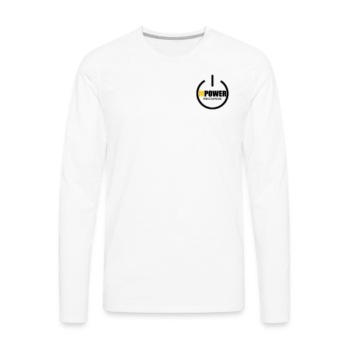 MPOWER RECORDS BRAND - Men's Premium Long Sleeve T-Shirt