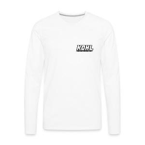 kohlracing logo - Men's Premium Long Sleeve T-Shirt