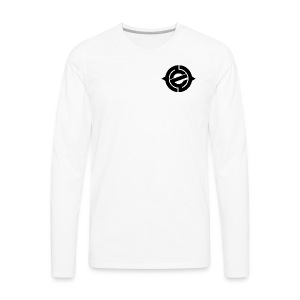 Logo Black Heart - Men's Premium Long Sleeve T-Shirt