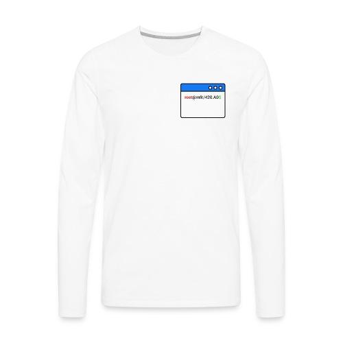 ~/Techniques Informatiques - Men's Premium Long Sleeve T-Shirt