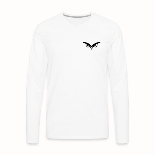 Nocturne Logo black - Men's Premium Long Sleeve T-Shirt