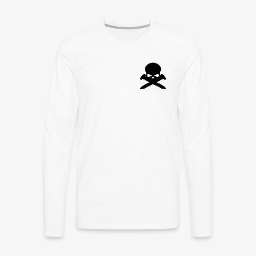 Screwed Apparel Logo - Men's Premium Long Sleeve T-Shirt