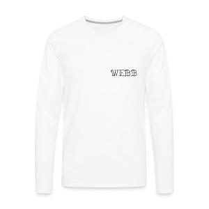 Logomakr 1t8fvP - Men's Premium Long Sleeve T-Shirt