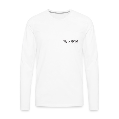 Logomakr 1t8fvP - Men's Premium Long Sleeve T-Shirt