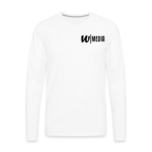 Logo 2 Black - Men's Premium Long Sleeve T-Shirt