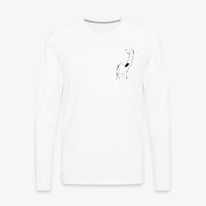 Aisselles - T-shirt Premium à manches longues pour hommes