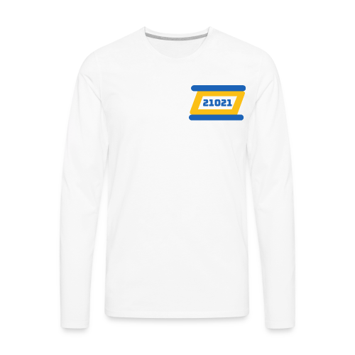 21021 Golden State - Men's Premium Long Sleeve T-Shirt