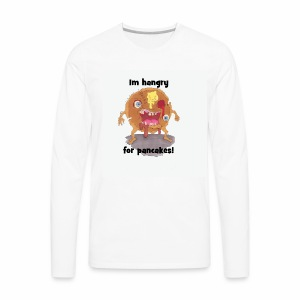 I'm hangry for pancakes - Men's Premium Long Sleeve T-Shirt