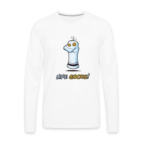 Life Socks - Men's Premium Long Sleeve T-Shirt