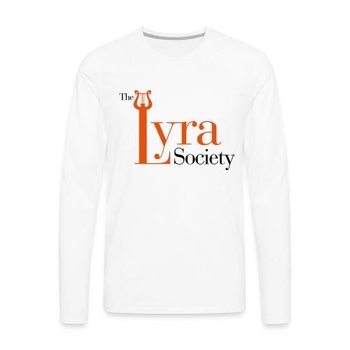 Lyra Society - Men's Premium Long Sleeve T-Shirt