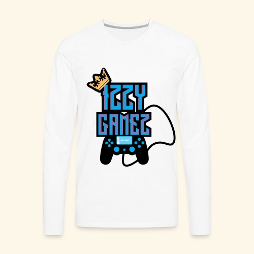 Izzy Gamez Gang - Men's Premium Long Sleeve T-Shirt