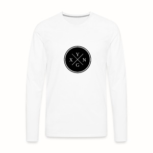 Yxng black design - Men's Premium Long Sleeve T-Shirt