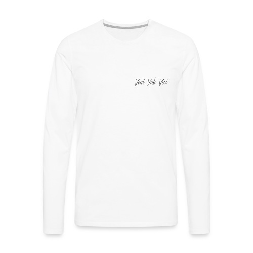 Veni, Vidi, Vici - Men's Premium Long Sleeve T-Shirt