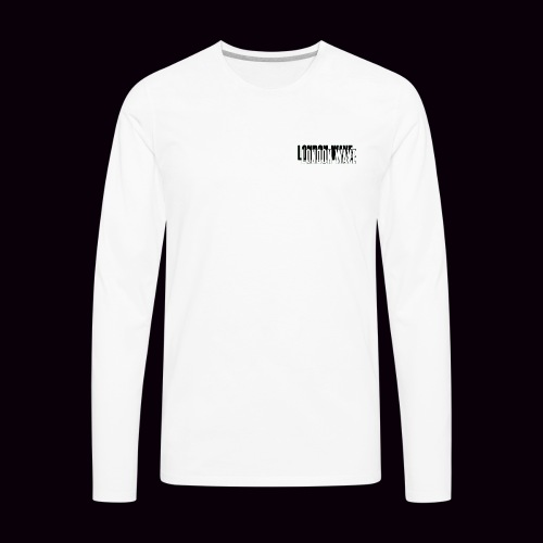 London Wave Basic - Men's Premium Long Sleeve T-Shirt