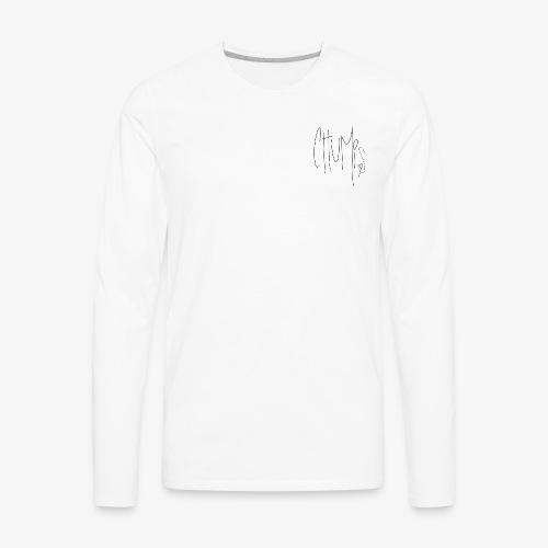 chump fool - Men's Premium Long Sleeve T-Shirt