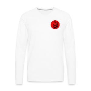 Wolf Logo - Men's Premium Long Sleeve T-Shirt