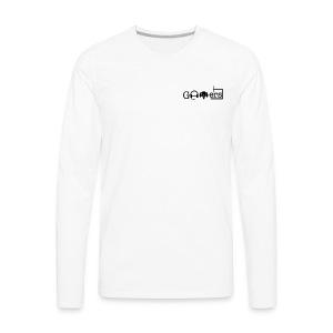 Gamers™️ Logo - Men's Premium Long Sleeve T-Shirt