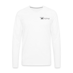 beginning pusher lifestyle - Men's Premium Long Sleeve T-Shirt