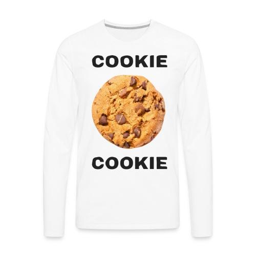 COOKIE COOKIE - Men's Premium Long Sleeve T-Shirt