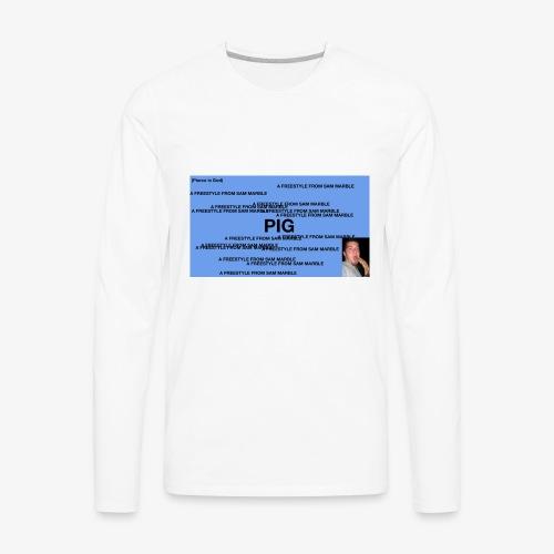 PIG Apparel - Men's Premium Long Sleeve T-Shirt