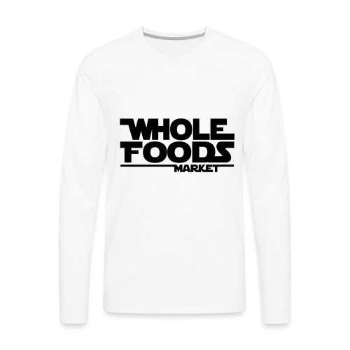 WHOLE_FOODS_STAR_WARS - Men's Premium Long Sleeve T-Shirt