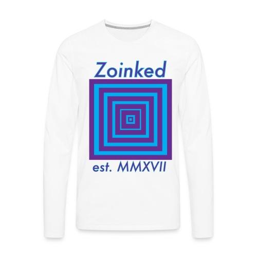 Zoinked v2 - Men's Premium Long Sleeve T-Shirt