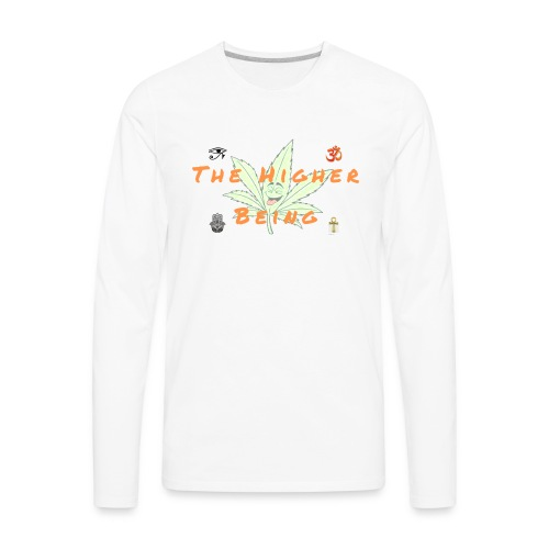 The Higher Being - Men's Premium Long Sleeve T-Shirt